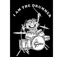 ANIMAL I AM THE DRUMMER Photographic Print