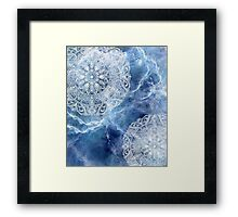 MANDALA SPACE VERSION Framed Print