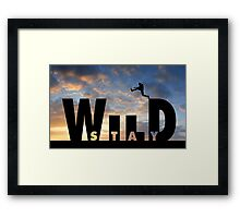 Stay Wild .10 Framed Print