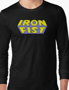 Iron Fist - Classic Title - Clean Long Sleeve T-Shirt