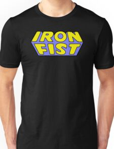 Iron Fist - Classic Title - Clean Unisex T-Shirt