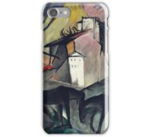 Vintage famous art - Franz Marc - The Unfortunate Land Of Tyrol .German Landscape iPhone Case/Skin