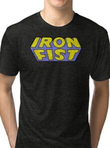 Iron Fist - Classic Title - Dirty Tri-blend T-Shirt