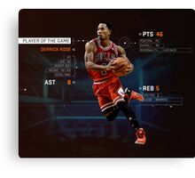 Player Of The Game Canvas Print
