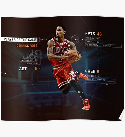 Player Of The Game Poster
