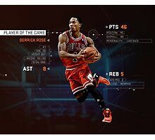 Player Of The Game Photographic Print