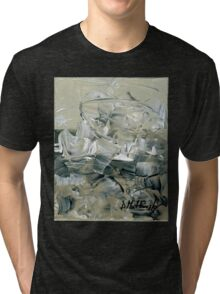 ABSTRACT 2 - Original acrylic painting on Canvas Tri-blend T-Shirt