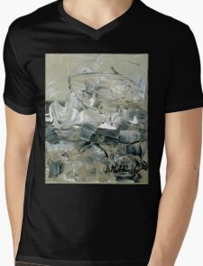 ABSTRACT 2 - Original acrylic painting on Canvas Mens V-Neck T-Shirt