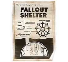Shelter Propaganda Poster Poster