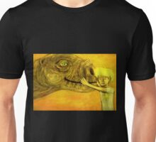 have you hugged your dinosaur today? Unisex T-Shirt