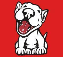 Full Happy Smiling English Bull Terrier by Sookiesooker
