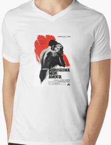 Hiroshima Mon Amour - French New Wave Classic Mens V-Neck T-Shirt
