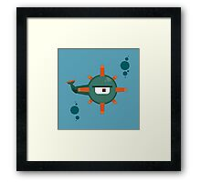 Guardian Minecraft Framed Print