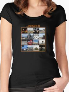 ...on Route 66 Women's Fitted Scoop T-Shirt