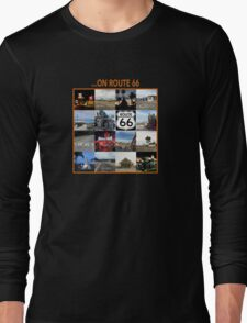 ...on Route 66 Long Sleeve T-Shirt
