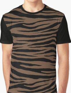 0140 Coffee or Tuscan Brown Graphic T-Shirt