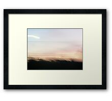 being lightness Framed Print