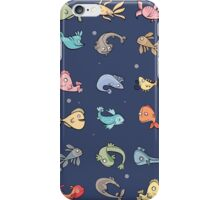 plenty of fish iPhone Case/Skin