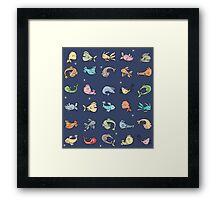 plenty of fish Framed Print