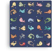 plenty of fish Canvas Print