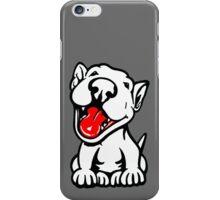 Full Happy Smiling English Bull Terrier iPhone Case/Skin