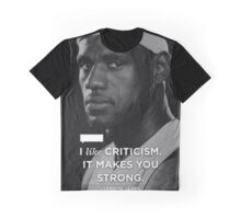 Lebron James Quotes Graphic T-Shirt