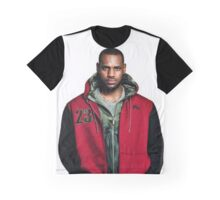 Young Lebron On Jeans Graphic T-Shirt