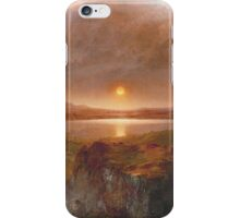 Vintage famous art - Frederic Edwin Church - American Landscape iPhone Case/Skin