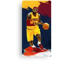 Sleeves And Head Band - abstract lebron Canvas Print