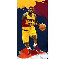 Sleeves And Head Band - abstract lebron Photographic Print