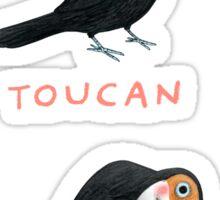 Toucan Toucan't Sticker
