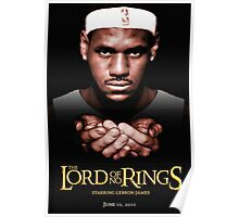 Lord Of No RIngs - Poor Lebron Poster
