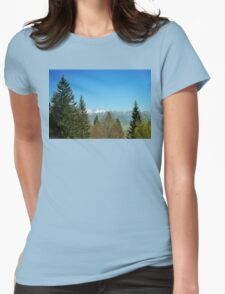 spring mount Womens Fitted T-Shirt