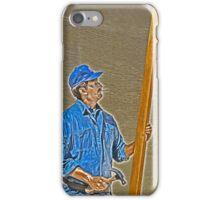 Street Art Carpenter iPhone Case/Skin