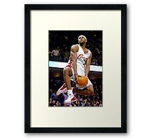 Cool Dunk By James Framed Print