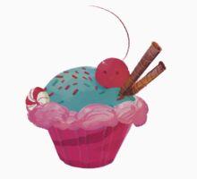 Cupcake! One Piece - Short Sleeve
