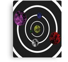 Orbit Of Colour Canvas Print