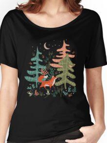 Evergreen Fox Tale Women's Relaxed Fit T-Shirt