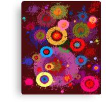 Abstract #360 Splirkles Canvas Print