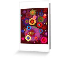 Abstract #360 Splirkles Greeting Card
