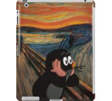 The scream iPad Case/Skin