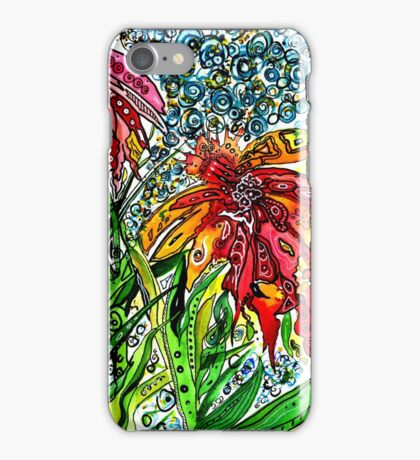 Playful Flowers iPhone Case/Skin