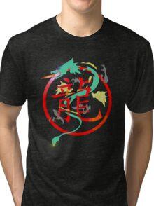Chimera, with searing eyes Tri-blend T-Shirt