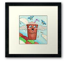 Flight of the Latte Framed Print