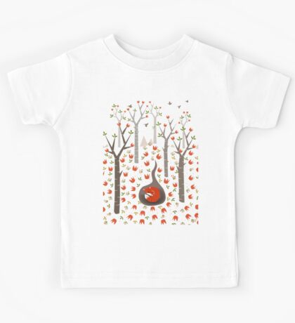Sleeping Fox Kids Tee