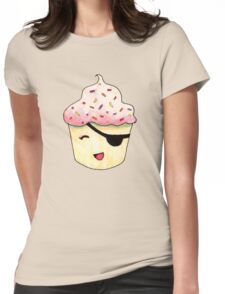 Kelly the Cupcake - The Pastry Platoon Womens Fitted T-Shirt