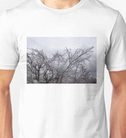 Niagara Artistic Hand - Sparkling Frozen Tree  Unisex T-Shirt