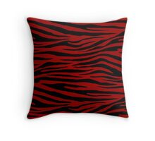 0160 Crimson Red,  OU Crimson Red, Stizza or USC Cardinal Throw Pillow
