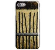 Fence 4 iPhone Case/Skin