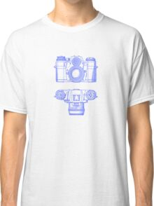 Vintage Photography - Contarex - Blue Classic T-Shirt